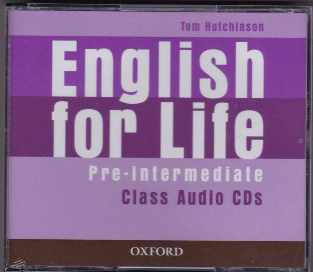 Oxford ENGLISH FOR LIFE PRE-INTERMEDIATE Class Audio CDs @NEW@