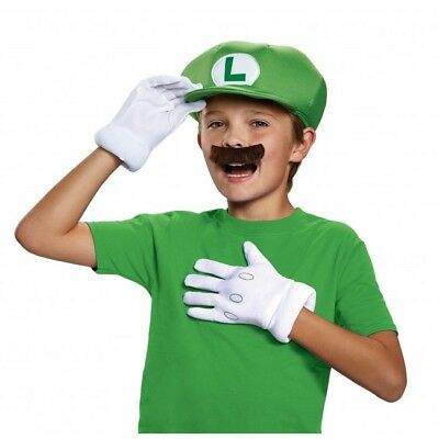Disguise Child Super Mario Accessory Kit