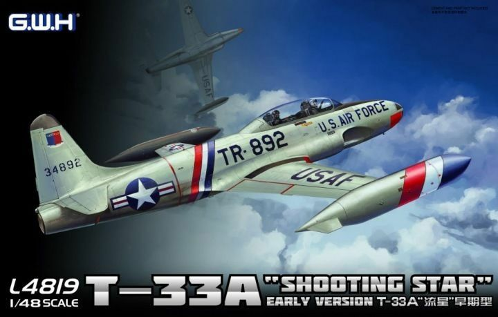 GreatWall L4819 1 48 T-33A Shooting Star Early Version