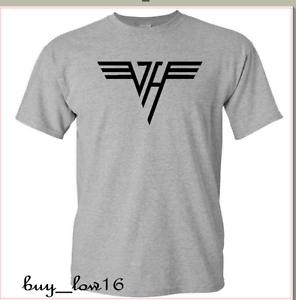 Van Halen Rock Band Vinyl Logo T-shirt