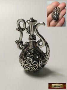 M01157 MOREZMORE 3 Miniature Tea Cups Saucers Spoons Dollhouse Prop
