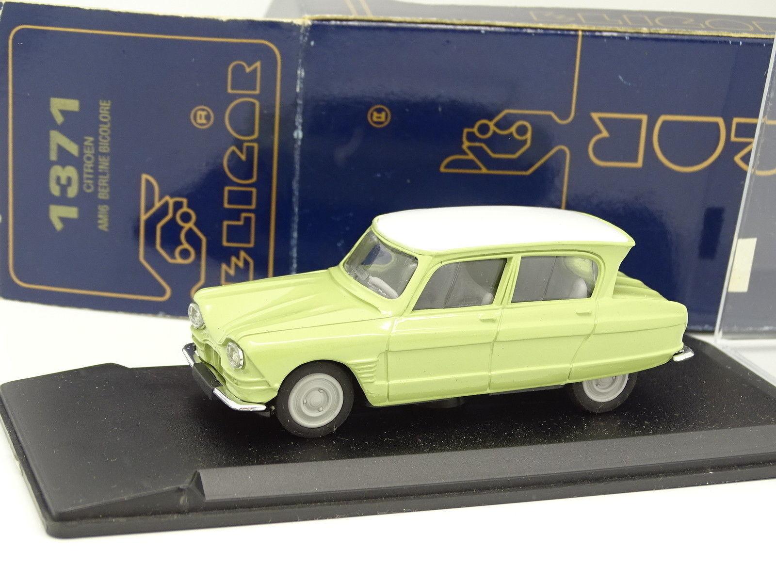 Eligor 1 43 - Citroen AMI6 Green