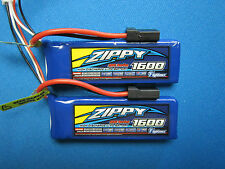 2 1600mah 2S 7.4v Lipo Battery 1/16 TRAXXAS E-Revo Slash Rally Summit VXL TRX RC