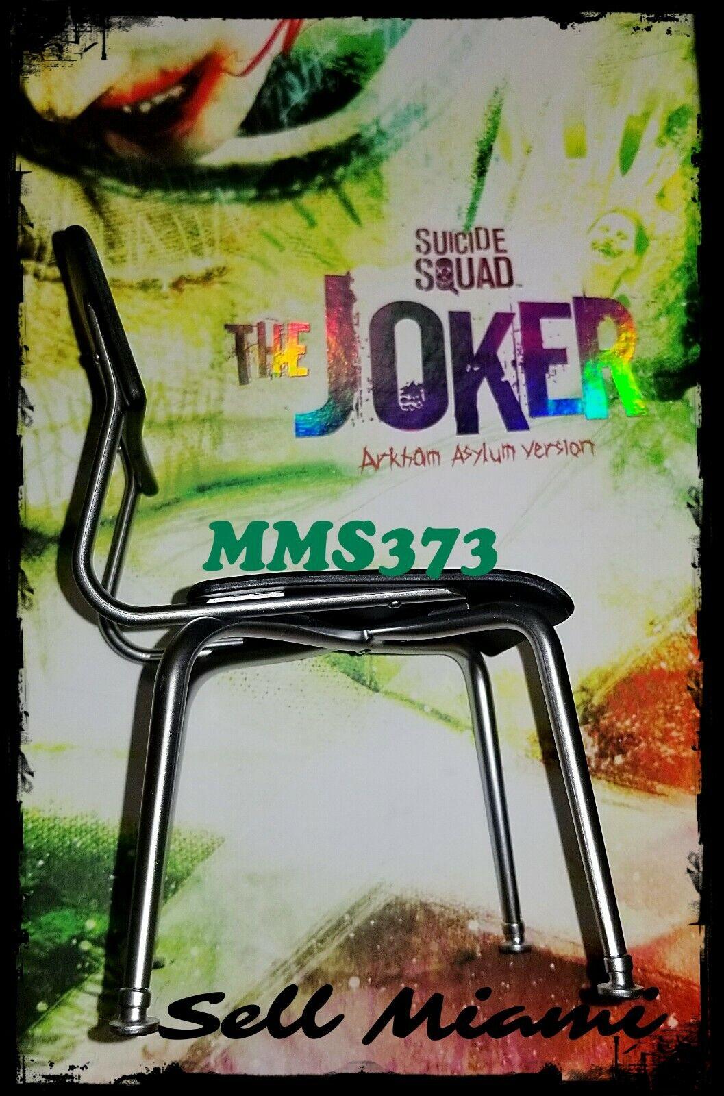 1  6 HOT TOYS Suicide Squad Le Joker MMS373 Noir Chaise  Dans votre attente