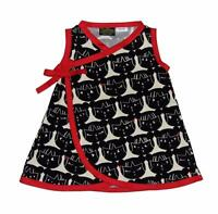 Minimalist Kiki Harajuku Black Red Japanese Baby Girls Toddler Dress Pants