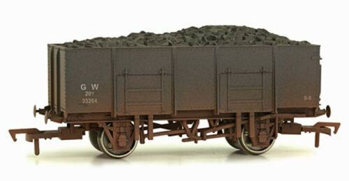 Dapol 20t Steel Mineral Wagon GWR 33264 Weathered OO Gauge DA4F-038-006
