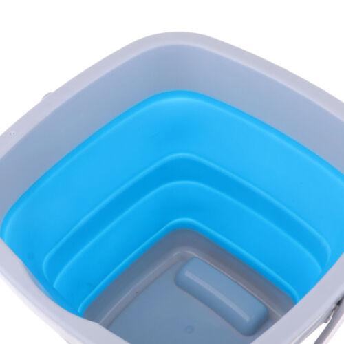 Secchio per Uso Domestico Portatile Secchio Pieghevole da 5L