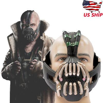Bane Dark Knight Rise Mask Batman Movie Character Bane Mask Latex Material Mask Green