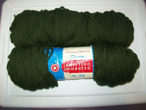 VINTAGE SKEINS AND BALLS OF YARN BOTH WOOL AND ACRYLIC MY BABY PATTERN