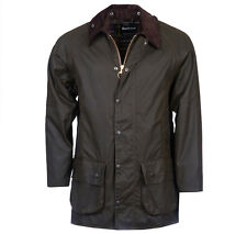 BARBOUR MENS CLASSIC BEAUFORT WAX JACKET MWX0002OL71 COLOR: OLIVE (SIZE: 34)