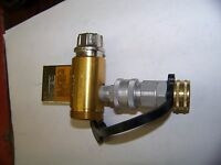 Msa Replacement Adjustable Valve Connector For Hose System With Snap-tite