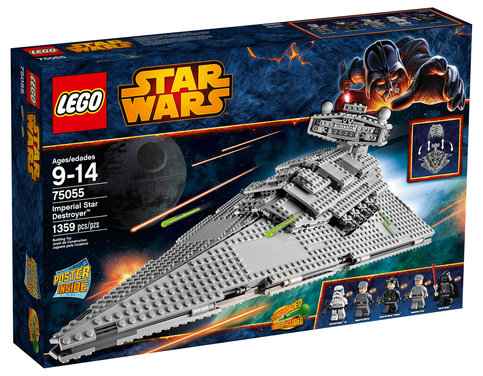 Lego Star Wars Wars Wars 75055 Imperial Star Destroyer neu und ovp 439891