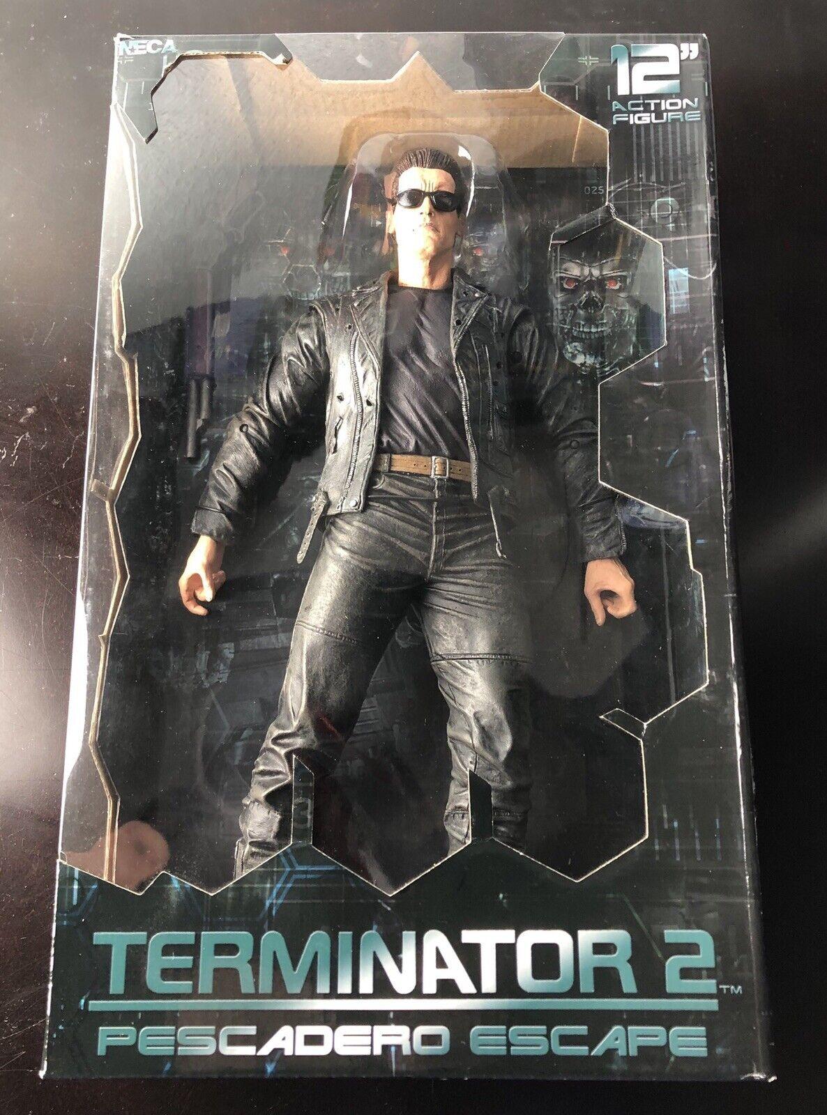 Nuevo Neca Figura Terminator 2 T-800 Pescadero Escape 12 pulgadas 1 6 3 juicio día