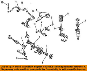 image is loading nissan-oem-front-suspension-hub-402022y010