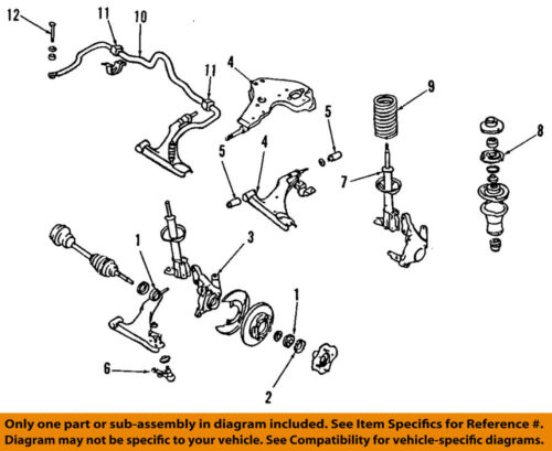 NISSAN OEM Front Suspension-Hub 402022Y010