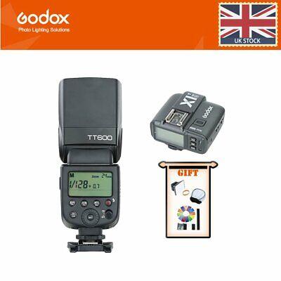 GODOX TT600 Flash Speedlight with X1T-N Trigger GN60 2.4G Wireless Camera Speedlite for Nikon Camera