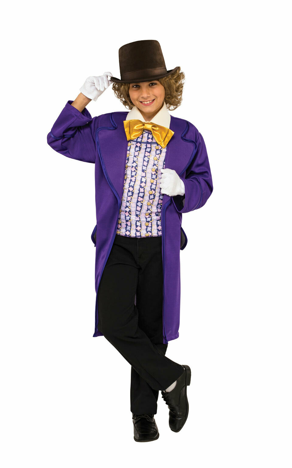 Rubie's Official Willy Wonka and The Chocolate Factory Boys Costume Age 5-7 Yrs
