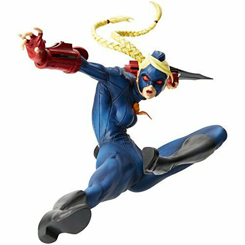 Hdge technical statue No 10 Ultra Street Fighter IV Decapre blu ver. Scale Comp