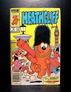COMICS-Marvel-Heathcliff-3-1985-RARE-spiderman-thor-avengers