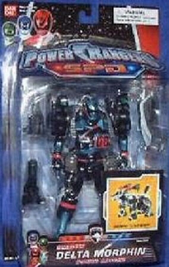 Power Rangers SPD Shadow Delta Morphin Ranger New 6