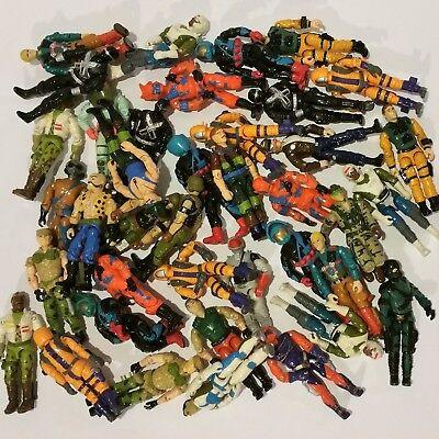 HUGE Collection Lot of 1988 G.I JOE COBRA ARAH Action Figures YOU PICK!
