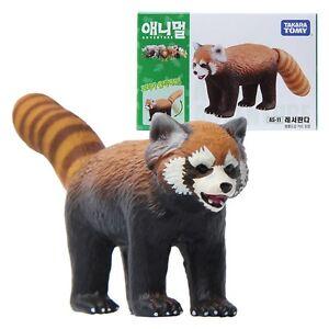 Mini Animal Figure Toy TAKARA TOMY Ania AS-36 Gorilla and Pineapple Wild Ver
