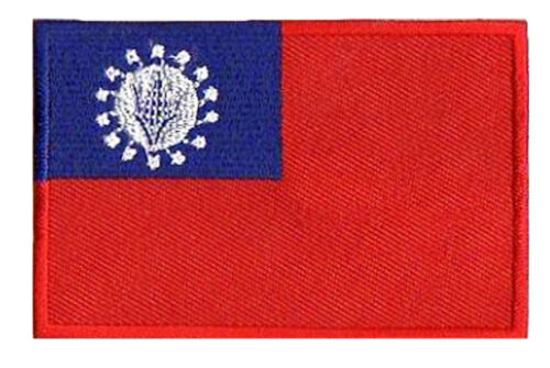 Patch Patch Patched Sewing Myanmar Burma 85x55mm Embroidered