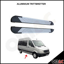 Aluminium Trittbretter für MB Sprinter W906 VW Crafter ab 2006 Almond (263)