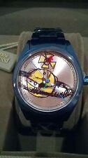 """Vivienne Westwood """"St Pauls's Time Machine Ladies Watch Quadrante Color Argento ORB VV 072 slnv"""