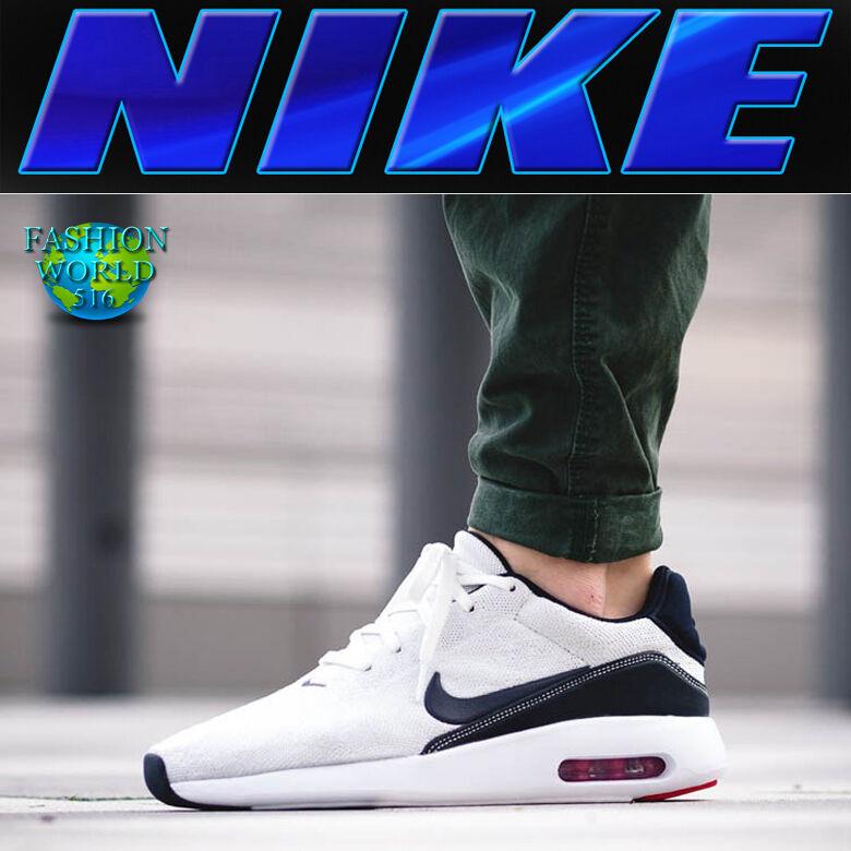 Nike air 9,5 max moderne männer sz 9,5 air flyknit schuhe segel / obsidian-pure plat 876066 100 a7b90b