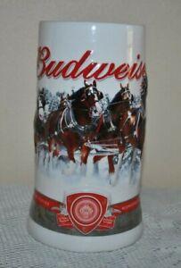 BUDWEISER-BEER-STEIN-Mug-2011-Strength-Power-Beauty-Anheuser-Busch-1081597