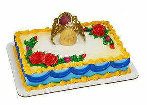 Beauty and the Beast Belle Tiara cake decoration Decoset cake topper