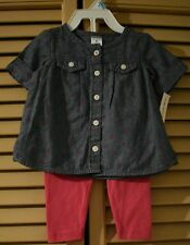 Terno for Baby Girl by Carter's(size 6m)MSRP$24.00*FREE 1ST CLASS SHIPPING*