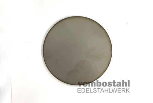Ronde Edelstahl Ø 100-500mm Stärke 10 mm Ankerplatte Edelstahl rund 1.4301
