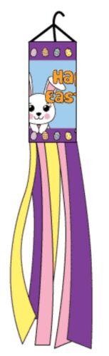 """60/"""" Happy Easter Bunny Nylon Wind Sock Windsock"""