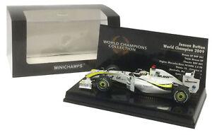 Minichamps-Brawn-BGP-001-22-2009-JENSON-BUTTON-F1-Champion-du-monde-echelle-1-43