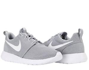 Falsificación familia Tener un picnic  Men's Nike Roshe One Wolf Grey/White Sizes 8-12 New In Box 511881-023 | eBay