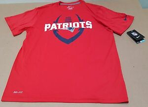 NEW ENGLAND PATRIOTS Training Nike Dri Fit NFL On Field T