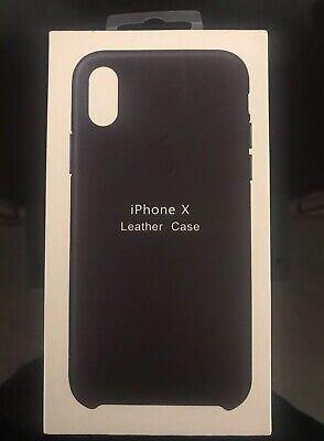 Custodia in finta pelle cover marrone per Apple Iphone 4 4G 4S 4GS...