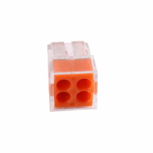 Electrical Connectors Wire Block Push Terminal Cable 12V 240V Reusable Connector