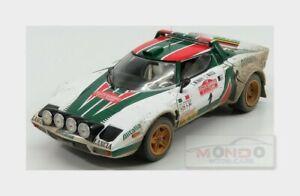Lancia Stratos Hf Alitalia # 1 Rally Sanremo 1976 Munari Sunstar 1:18 Ss4628