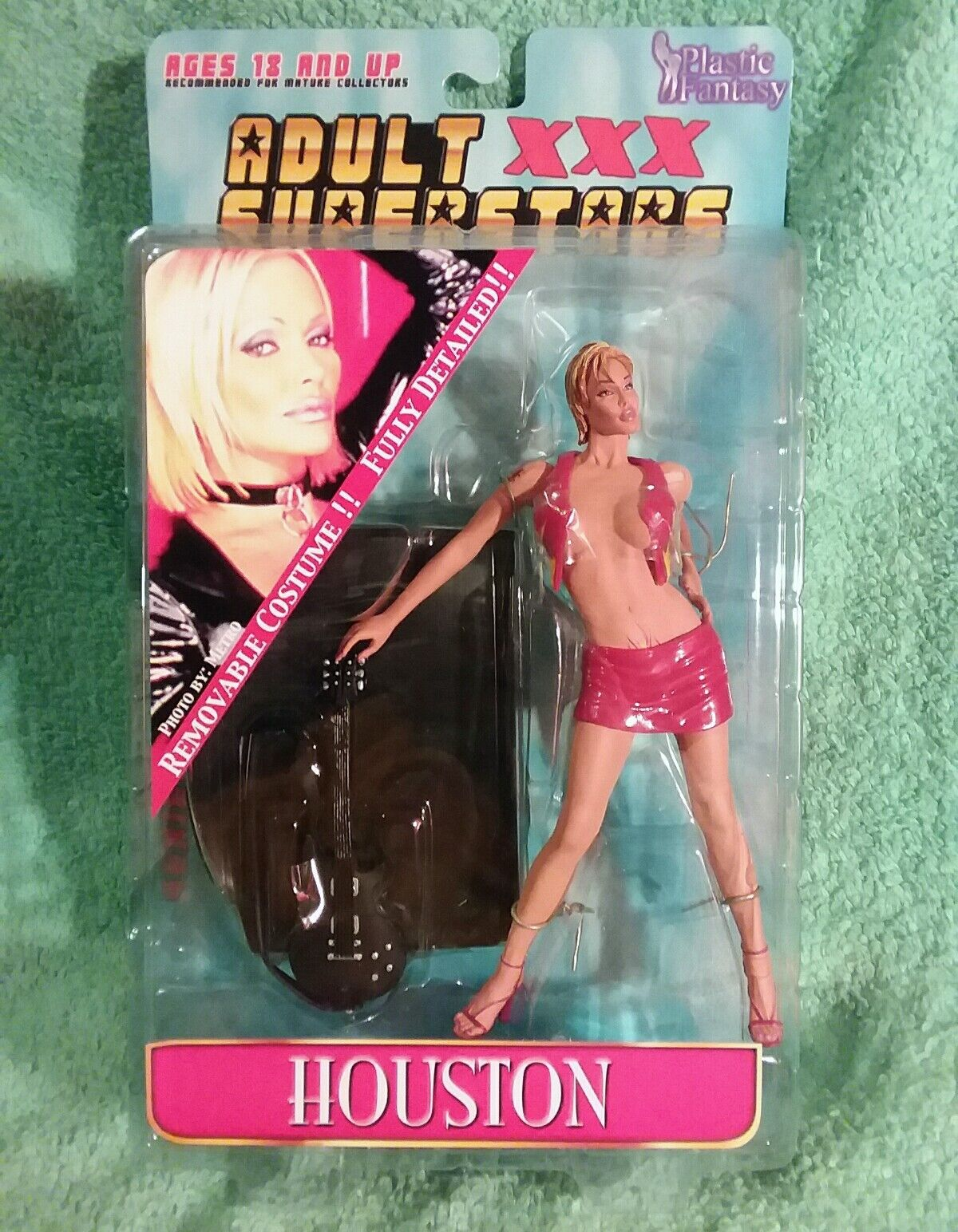Adult Superstars figure HOUSTON in RED variant Plastic Fantasy