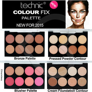 NEW-Technic-Colour-Fix-Max-Contour-Makeup-Palette-Cream-Powder-Concealer-Kit
