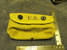 US WW2 Reproduction Shotgun Ammo Pouch, New Dated 1943