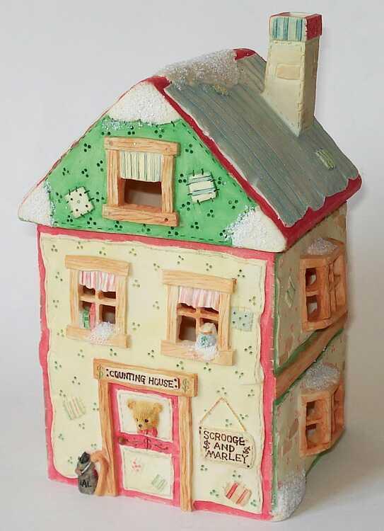 Cherished Teddies SCROOGE & MARLEYS OFFICE NIGHT LIGHT HOUSE - 622788  | Qualität