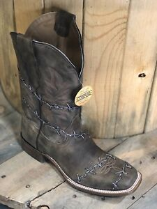7a187f9b6bf Details about Corral Men's Boot #A3532 Barbed Wire