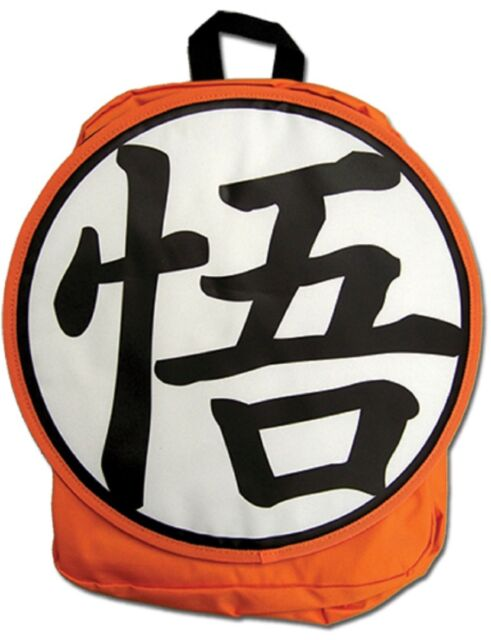 Dragon Ball Z Goku Symbol Backpack Dbz Backpack Ebay
