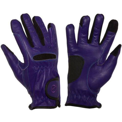 Original Touchscreen Friendly eGlove Leather GripPro Leather Riding Gloves