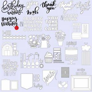 Birthday-Gift-Lovely-House-Greetings-Frames-Metal-Cutting-Dies-Hot-Foil-Die-Set