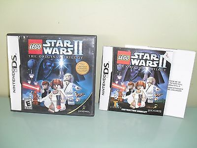 Star Wars Episode Iii Revenge Of The Sith Nintendo Ds Manual Case Only Ebay